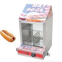 Wholesale Commercial V V Countertop Electric Hot Dog Steamer Warmer Displayer Showcase