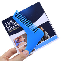 Wholesale Beard Bro Beard Shaping Tool Hair Trimmer for Perfect Lines and Symmetry Pro Shaving Beard Modelling Tools Hair Cut Gentleman Modelling Comb