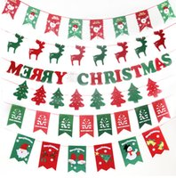 Wholesale 2016 and retail christmas decorations christmas flag red christmas flag Christmas christmas flag christmas hotel decorations