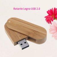 Wholesale Penna Chiavetta USB Swivel Wood GB Alta Velocità real real GB GB GB GB Memory Stick GB GB USB Storage U Disk
