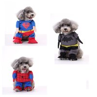 batman pack - Puppy superhero cape Costume Superhero DOG Batman dog clothes cat clothing four legs Change to pack puppy pet teddy mixs Christmas gift