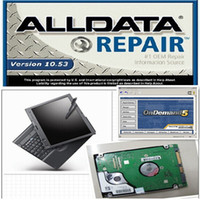 Wholesale alldata mitchell on demand auto repair software all data software in tb hdd Thinkpad X200 laptop ready to use