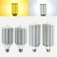 ac auto body - Auto PIR Motion Sensor Light Corn Bulb W W W Degree Human Body Induction lamp movement de movimento night