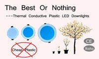 best thermal - The Best Or Nothing Inch Thermal Conductive Plastic LED Downlight SMD2835 V W