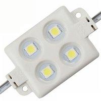 Wholesale Injection LED module Waterproof SMD LED advertising light module DC12V W led IP66 Colorful LED Modules