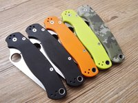 Wholesale 2016 C81 Folding Knife CPM S30V G10 Handle Blue Camping Hunting Survival Knives Military Pocket Outdoor Tool Ultra high quality