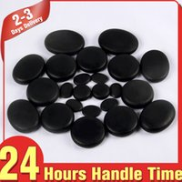 Wholesale 28pcs Massage Stones Hot Stone Therapy Body Slimming System Promote Deep Muscle Tissue Relaxation Eliminate Fatigue