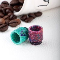 beautiful grid - Beautiful Grid TFV8 drip tips Epoxy Resin Drip Tip Wide Bore Mouthpiece For TFV8 RDA Atomizer Tank Mods Electronic Cigarette Accessories