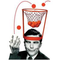 Wholesale BASKET CASE GAME basketball head pitching parent child interactive entertainment creative head