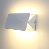 Wholesale Modern W W W W led wall lamp adjustable shade aluminium indoor light wall mounted lamps