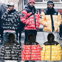 alphabet embroidery patterns - Winter section of the streets of influx of high street tide people must choose unscrupulous alphabet barrage jacket down jacket