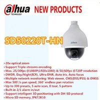 Wholesale DAHUA Mp HD x Ultra high Speed Network PTZ Dome Camera IP67 Vandalproof without Logo SD50220T HN