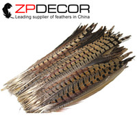 Easter beautiful carnival - ZPDECOR cm inch Beautiful TOP Quality Natural Ringneck Pheasant Tail Feathers For Carnival Decor