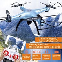 Wholesale Syma X5sw G remote control WIFI real time image transmission million pixel HD four axis aircraft Christmas gift toy plane