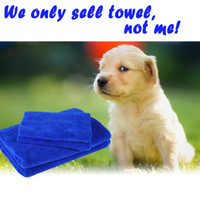 Wholesale Microfiber Dog Towel Drying Jacket Blanket Pet Bath Towels Hypoallergenic Chemical Free Cleaning And Grooming Absorbent Animal Cloths
