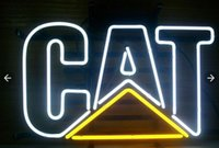 White best caterpillar - Fashion Handcraft Caterpillar Cat Real Glass Tubes Beer Bar Pub Display neon sign x15 Best Offer