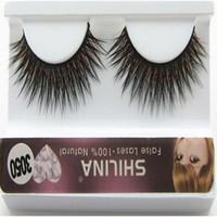 Wholesale SHILINA Natural Mink False Eyelashes cm Long Fake Synthetic Hair False Eyelashes Extensions with Casual Makeup