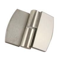 Wholesale 2pcs Stainless Steel Door Hinges For Jib Door And Folding Door Public Toilet Partition Hardware Series