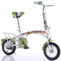 Wholesale New Kids Folding Bicycle Fashion Children Student Mini Carbon Road Bike quot quot Safe Cycling MN0342