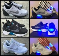 auto shoes - HyperAdapt Air Mag Back To Future Mens Running Shoes Lighting Mags Glow In The Dark Sole MT2 Without Auto Lacing Sneakers