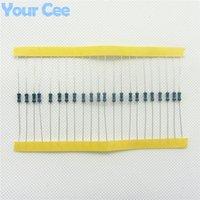 Resistor de la película de metal de Wholesale-100pcs 1 / 4W resistor del terminal de RoHS de la precisión de la tolerancia del 1m ohmio 1%