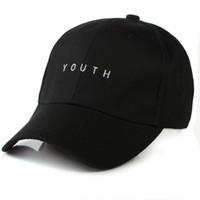 baseball beach - Fashion Black Pink White YOUTH Dad Hats For Men Women Baseball Adjustable Palace Deus Cap Ovo Drake Hat Gorras Planas Hip Hop