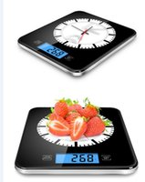 Wholesale Home Kitchen Appliance with Big Analogue Clock have a big cool clock in the glass surface scale change to a wall clock
