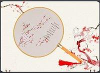 Wholesale Round fan Chinese wind female classical fan fan silk ancient classical gift hanfu dance dyx03