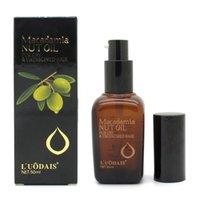 Wholesale 50ml Hair Care Hair Scalp Treatment Pure Moroccan Argan Oil Macadamia Nut Oil For Dry and Damaged Hair
