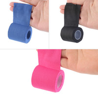 Wholesale 5cm x m Sports Muscle Stickers Tape Roll Cotton Elastic Adhesive Muscle Bandage Strain Injury Support