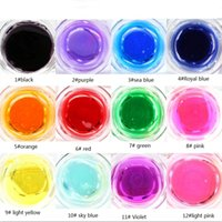 Wholesale Fashion Phototherapy glue Colors Nail Art UV Gel Extension Solid Color Nail Gel Set Glitter set