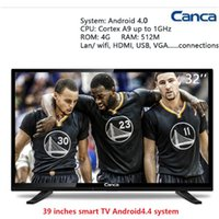 Wholesale Canca inches Smart TV Multi Interface Wifi Monitor andriod Narrow Online education Simple Operation