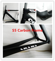 Wholesale S5 C Carbon Road bike UD full carbon fibre frame carbon bicycle frame carbon fork carbon seatpost headsets BBright