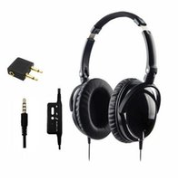 active devices - Newest Active Noise Cancelling Headphones for Apple Devices With Mic Foldable Over Ear HiFi Noise isolation Headset Netsky Earphone