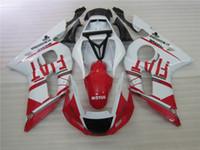 Wholesale New TOP quality ABS Fairings Kits Fit For YAMAHA YZF600 R6 YZF R6 bodywork set white red FIAT