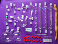 art chemistry - New Lab Chemistry Glassware kit Laboratory Glassware Set With Joints