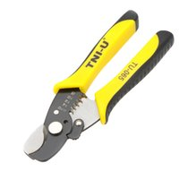 Wholesale Wire Stripper Cutter Peeling multifunctional pliers multitool Electricians hand crimping tool forceps alicates ferramenta outil