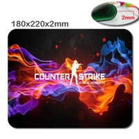 Wholesale Hot sales CSGO mouse pad non slip durable can be customized can be used as a gift decorate your laptop and desk