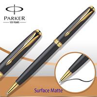 al por mayor bolígrafo de la oficina-9 colores Parker soneto serie bolígrafo plata / clip de oro Parker bolígrafo recarga para escribir negocios Escritorio suministros