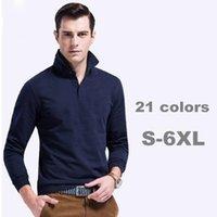 Wholesale 2017 long sleeve Summer Men s Cotton Men s cotton shirt Quick Dry Embroidery Crocodile Casual Shirt DHL Free