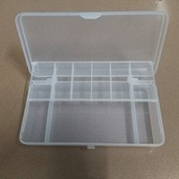 Wholesale Lure Box Hard Bait Soft Bait Fly Fishing Lure Tackle Box Case Double layer Strength Transparent Visible Fishing Accessories