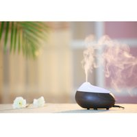 Wholesale CAROLA Newest Essential Oil Diffuser ml Electronic Ultrasonic Aroma Diffuser Fragrance Diffuser For Home dark wood