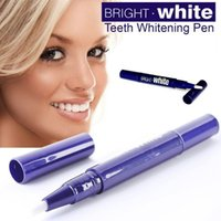 Cheap Teeth Whitening Pen Dental Gel Professional Use Home Slim White Teeth Powerful Effect Pen Bright Whitener Bleaching Kit Teeth Whitening F187