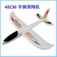 Venta al por mayor-2016 nuevo plano de lanzamiento de mano DIY auto carga aviones avión de juguete modelo de aviones