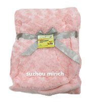 Wholesale Flos chrysanthemi PV fleece pretty child blanket baby throw Colorful bedding time soft throw quot x40 quot
