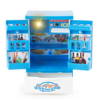 best refrigerator - Mini Simulation refrigerator toy for kid lovely classic electric furniture toy the best gift for children