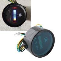 Wholesale Universal Car Motor quot mm Fuel Meter LED Digital Display V System Fuel Gauge