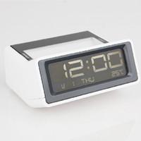 al watch - Creative LED luminous Muted electronic alarm clock al fajr despertador digital watch home decor klok masa saati calendar plastic
