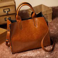 Wholesale Smooth Genuine Leather Handbags Women Shoulder Bag brand designer Vintage Crossbody Bag Concave Bolsas Women Messenger Bags
