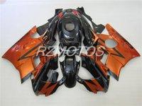 Tres regalo hermoso libre y nuevo ABS de la alta calidad fijaron el sistema para HONDA CBR600 91-94 CBR 600 F2 1991 1992 1993 1994 color negro agradable del naranja